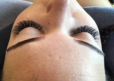 Long think eyelash extensions